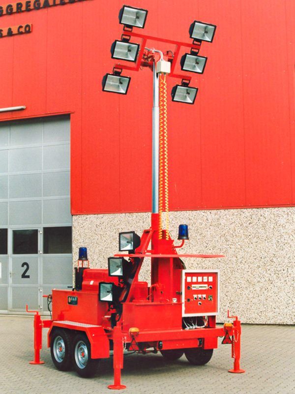 20 kVA Mobile Light Tower