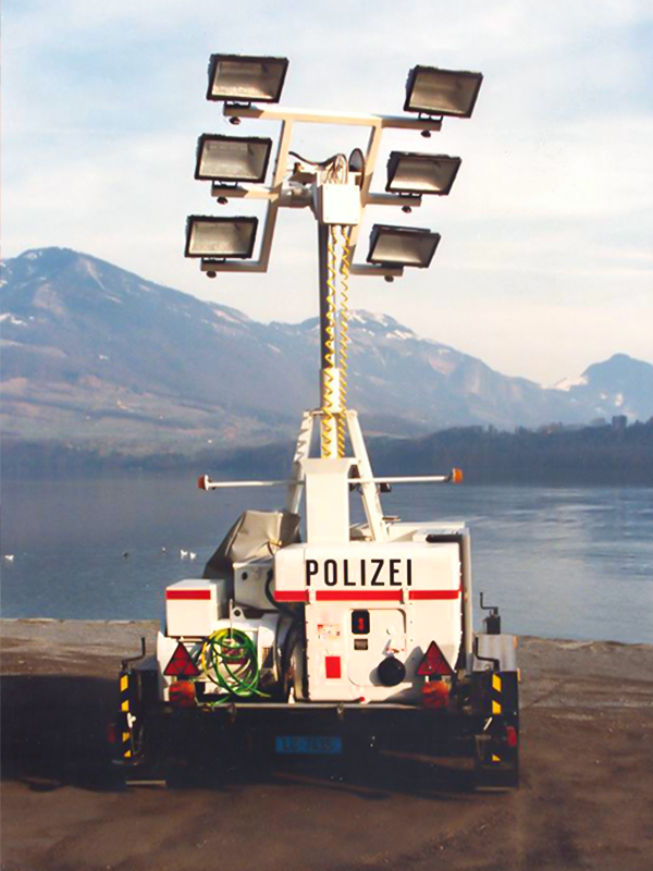 Mobile Light Tower