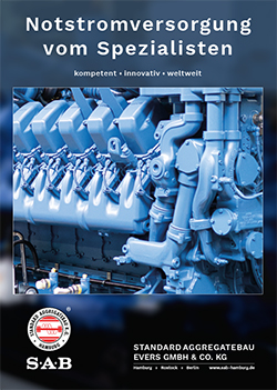 SAB brochure: Diesel generators, ground power units, light towers, containerised units, switchgears, rental generators